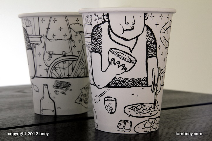 Styrofoam Cup Illustrations by Cheeming Boey: CheemingBoey13.jpg