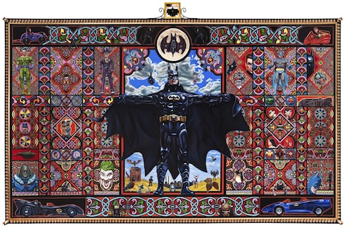 Paintings by Robert Xavier Burden: batman-web-small.jpg