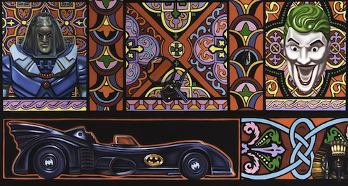 Paintings by Robert Xavier Burden: batmanjoker-web-small.jpg