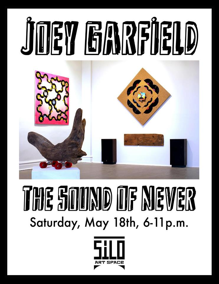 "What's The TIme?: Joey Garfield ""The Sound of Never"" @ Silo Art Space, Chicago: JoeyG-Silo-space-show.jpg"