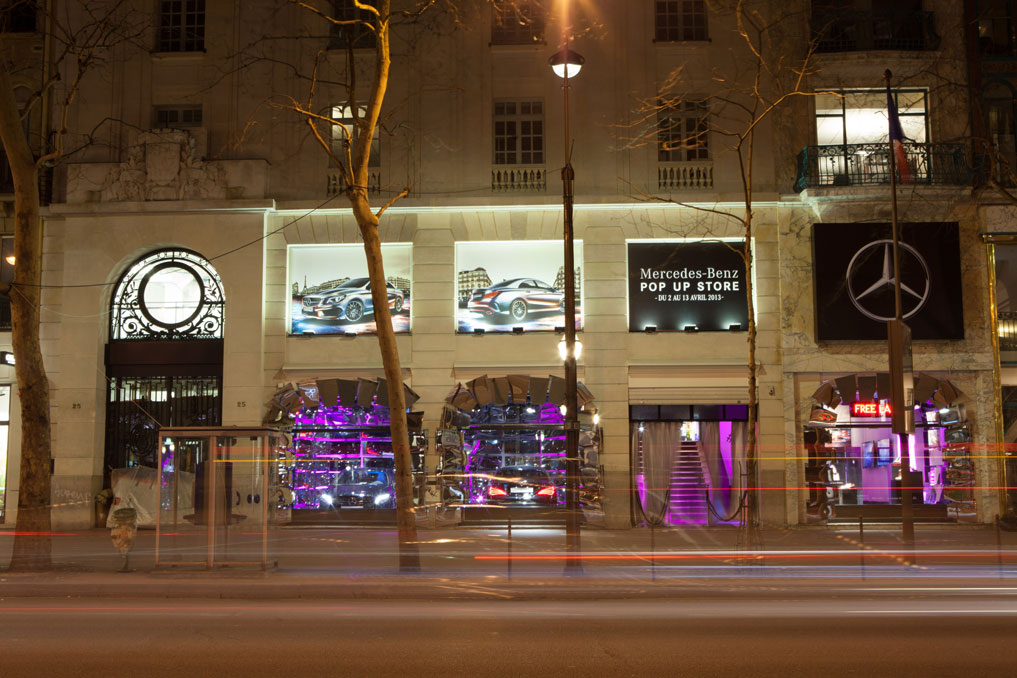 "Mercedes-Benz and the new CLA's ""Untamed"" Installation, Paris: _MG_3048.jpg"
