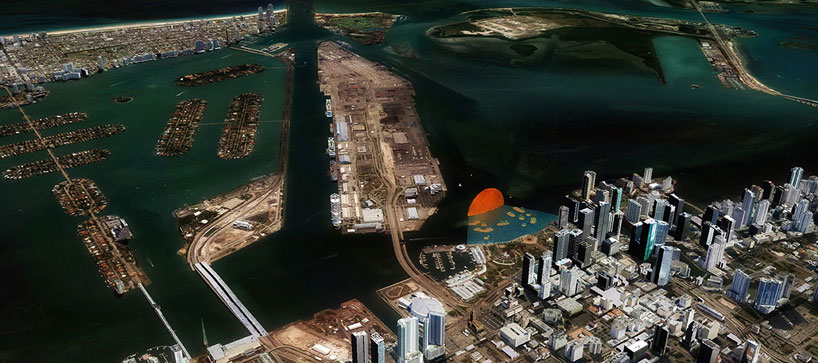 "Miami Bayfront Park Proposal, ""The Miami Sun"": designboom-visiondivision-the-miami-sun-06.jpg"