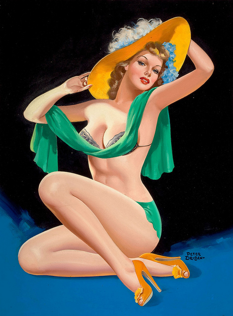 Peter Driben's Unforgettable Pin Ups: driben13.jpg
