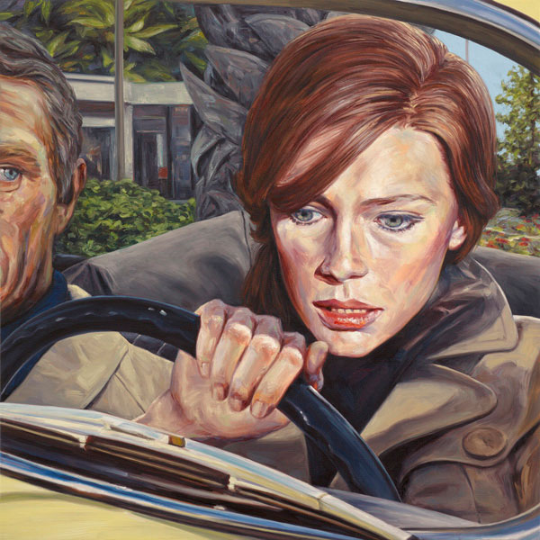 Paintings by Eric White: Bullitt600.jpg