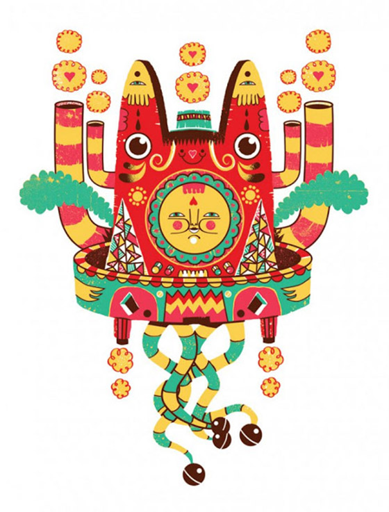 Wilmer Murillo's Re-Imagined Totems: hoobtaky.jpg