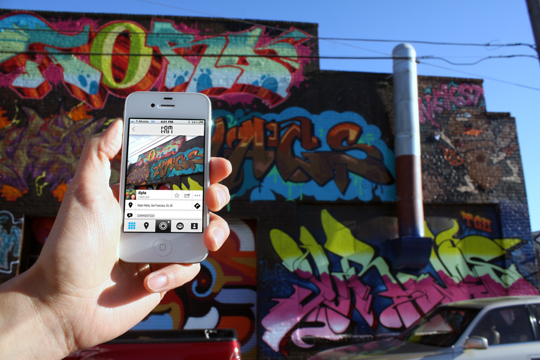 1AM Mobile App Allows You to Capture and Share Your Street Art Discoveries: hayes_mobile_1am-1.jpg