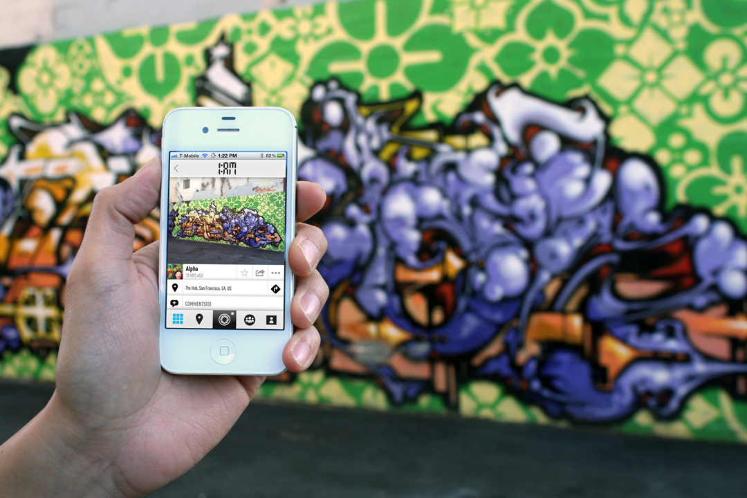 1AM Mobile App Allows You to Capture and Share Your Street Art Discoveries: revok_mobile_1am.jpg