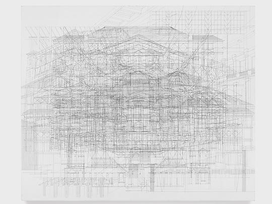 GIFs of Julie Mehretu's Meticulous, Multi-Layered Painting Process: 10a633dc.jpg