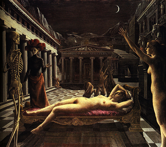 Paul Delvaux's Sleepwalking Sirens: paul10.jpg