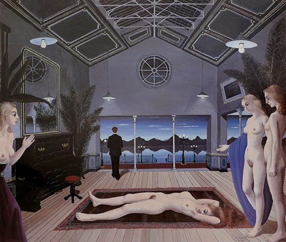 Paul Delvaux's Sleepwalking Sirens: paul11.jpg