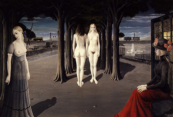 Paul Delvaux's Sleepwalking Sirens: paul12.jpg