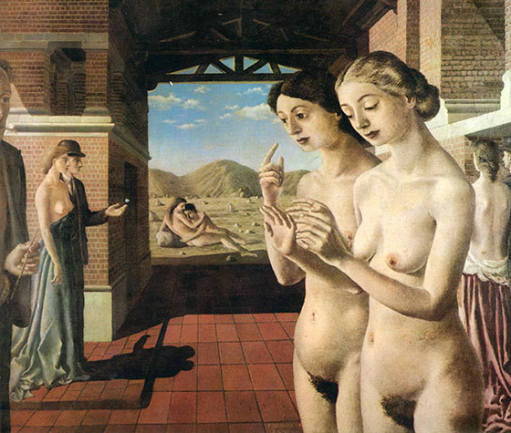 Paul Delvaux's Sleepwalking Sirens: paul13.jpg