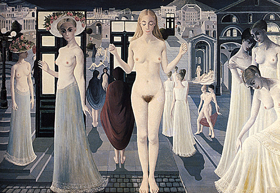 Paul Delvaux's Sleepwalking Sirens: paul15.jpg