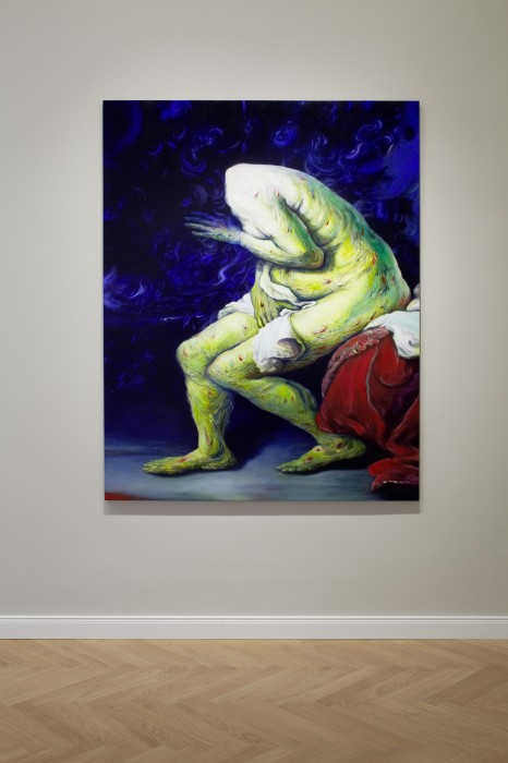 Paintings by Glenn Brown: 2011_installation_view_8_01-466x700.jpg