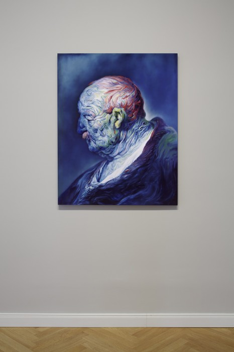 Paintings by Glenn Brown: 2011_installation_view_9_01-466x700.jpg
