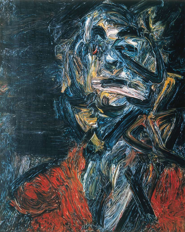 Paintings by Glenn Brown: The_Day_The_World_Turned_Auerbach.jpeg