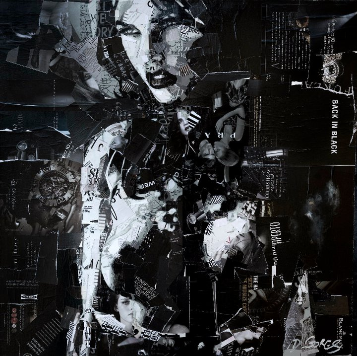 Collage Portraits by Derek Gores: derek10.jpg