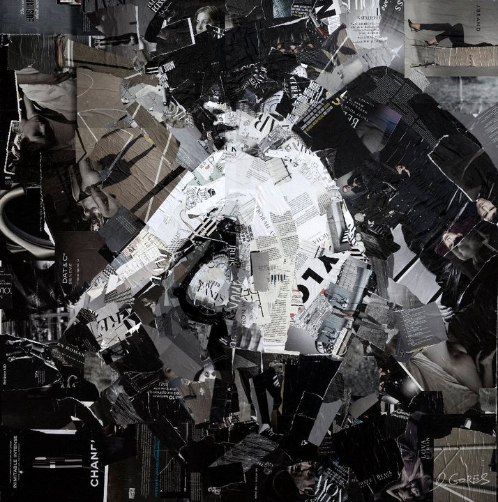 Collage Portraits by Derek Gores: derek11.jpg