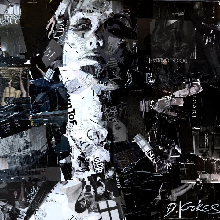 Collage Portraits by Derek Gores: derek12.jpg