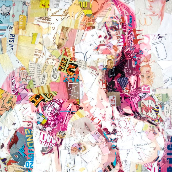 Collage Portraits by Derek Gores: derek13.jpg