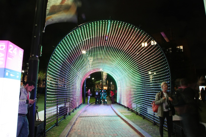 """Hundreds and Thousands"" @ Vivid Sydney 2013: hundredsandthousands02.jpg"