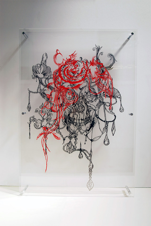 Intricate Paper Sculptures by Nahoko Kojima: solo-7.jpg