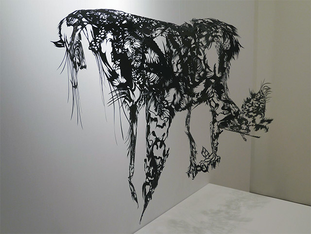 Intricate Paper Sculptures by Nahoko Kojima: solo-9.jpg