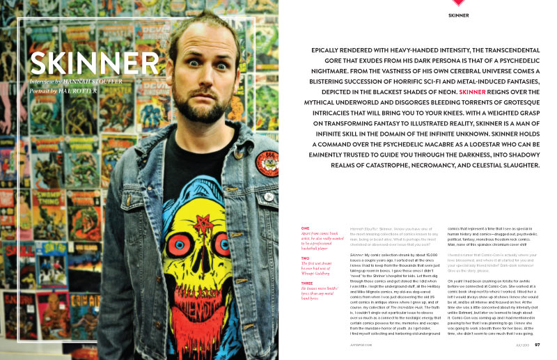 "Issue Preview: July 2013 ""Comic-Con"" Special with Skinner, Gentle Giant, Ben Jones, Alex Pardee, and WETA: sk-01.jpg"