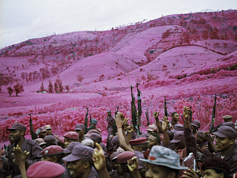 "Watch: Richard Mosse Talks His New Infrared Multi-Media Installation ""The Enclave"": 1.jpg"