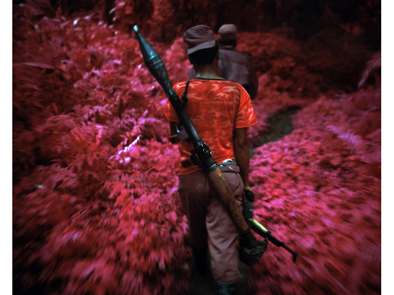 "Watch: Richard Mosse Talks His New Infrared Multi-Media Installation ""The Enclave"": 13.jpg"