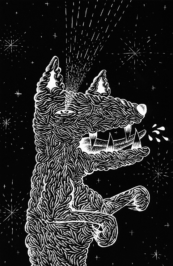 Kruella D'Enfer Illustration: dogs.jpg