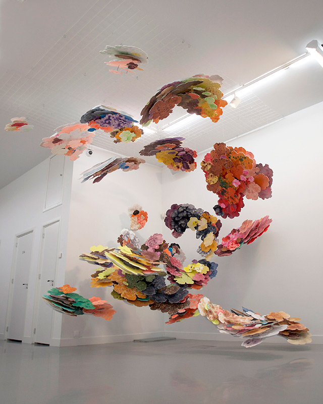 Joris Kuipers' Hanging Painted Clouds: kuipers-1.jpg