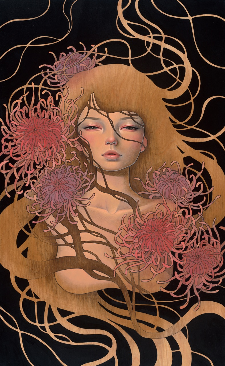 Audrey Kawasaki + Esao Andrews @ Thinkspace Booth, SCOPE Basel: things_unsaid.jpg