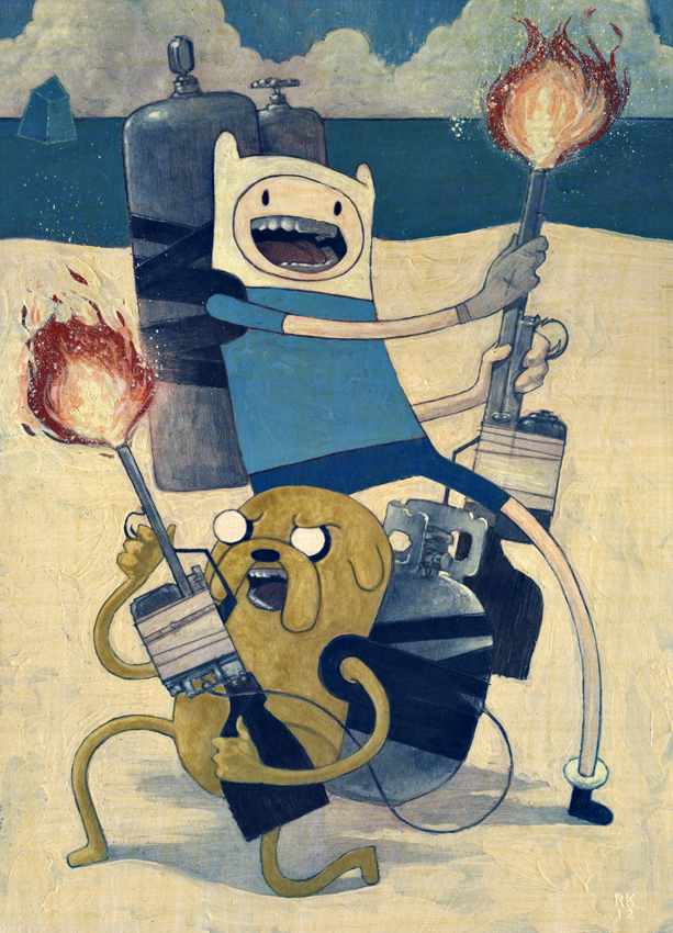 Rich Kelly Poster Art: AdventureTime2.jpg