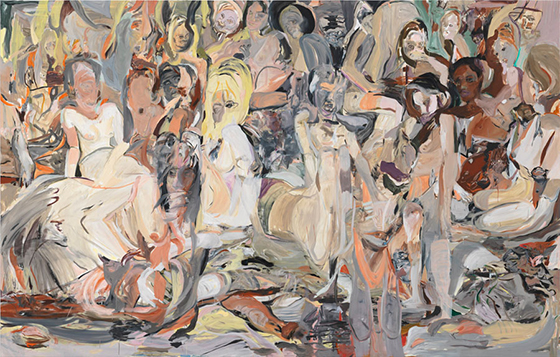 Cecily Brown's Crowds of Flesh: cecily.jpg