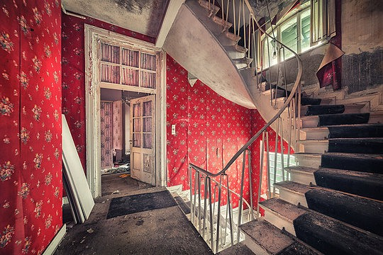 Matthias Haker: A Series of Abandoned Buildings :