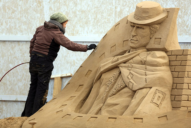Sand Sculpture Festival in