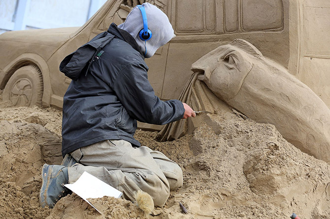 Sand Sculpture Festival in North Somerset, England: sand-sculpture-festival-england-17.jpg