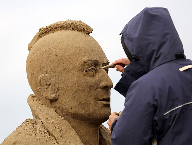 Sand Sculpture Festival in North Somerset, England: sand-sculpture-festival-england-18.jpg