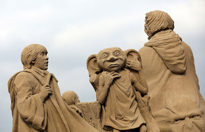 Sand Sculpture Festival in North Somerset, England: sand-sculpture-festival-england-2.jpg
