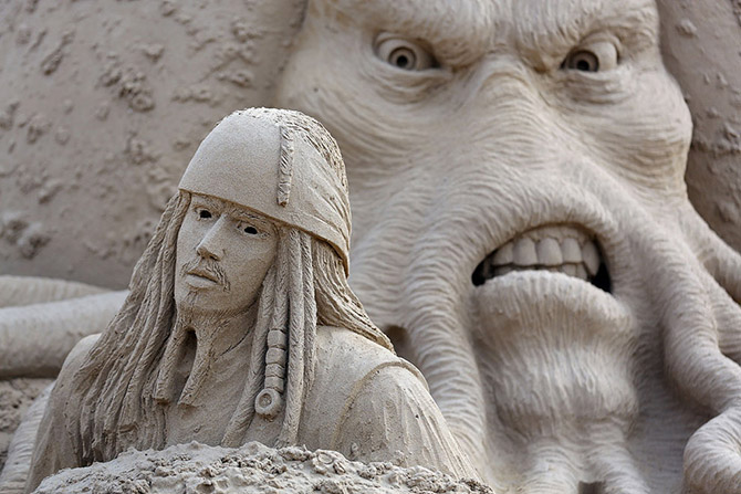 Sand Sculpture Festival in North Somerset, England: sand-sculpture-festival-england-3.jpg