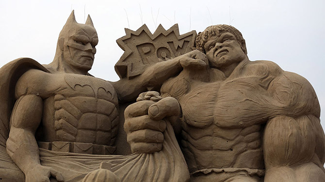 Sand Sculpture Festival in North Somerset, England: sand-sculpture-festival-england.jpg