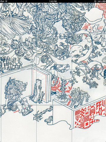 "James Jean: ""PARALLEL LIVES"" IBOOK: 3.480x480-75.jpg"