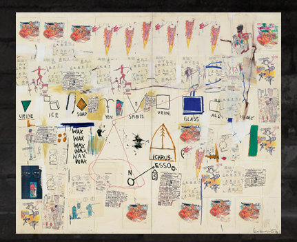 The time that Basquiat's Resume Sold for ,000: Screen shot 2013-06-13 at 1.58.07 PM.png
