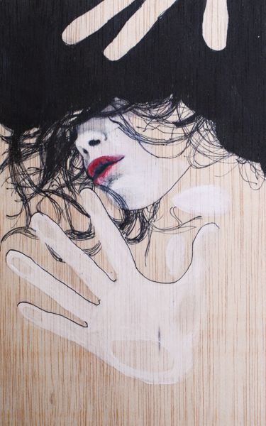 Illustrations and on Paper and Wood by Antonella Montes (aka Lantomo): FOTOCOPIADA-RED.jpg