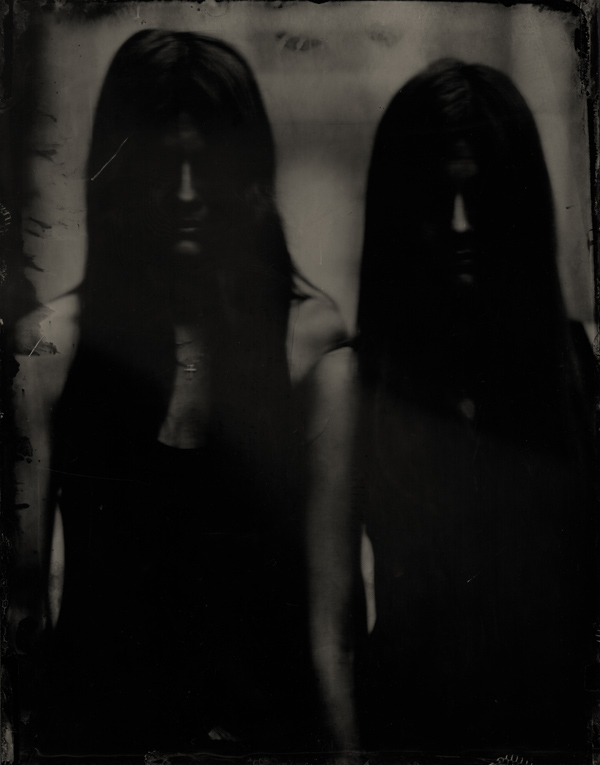 The Demons Return: Wet Plate Collodion Photography by Boogie: twins.jpg