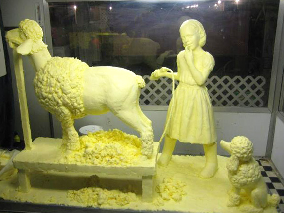 Butter and Other Food Sculptures by Jim Victor and Marie Pelton: Fefe-2_web.jpg