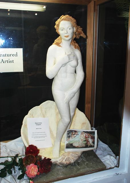 Butter and Other Food Sculptures by Jim Victor and Marie Pelton: Venus.jpg