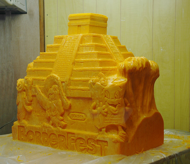 Butter and Other Food Sculptures by Jim Victor and Marie Pelton: brdrfest-2013-2web.jpg