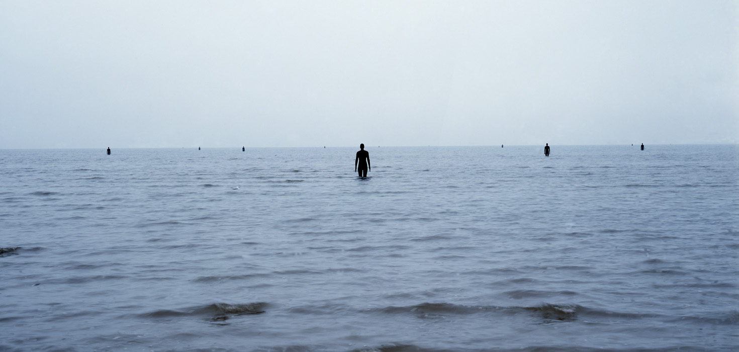 """Another Place,"" 100 Cast Iron Sculptures by Antony Gormley: 4eaaa5c668fd4.jpg"